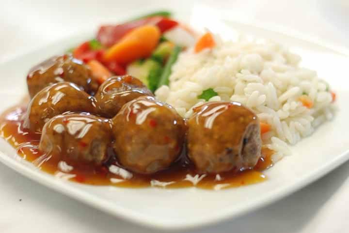 how to cook frozen meatballs