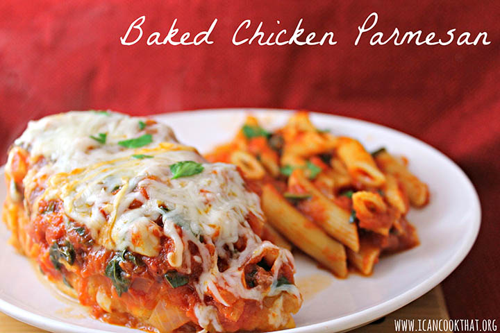 chicken parmesan baked