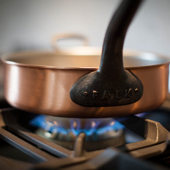Copper Cookware Heat Conduction