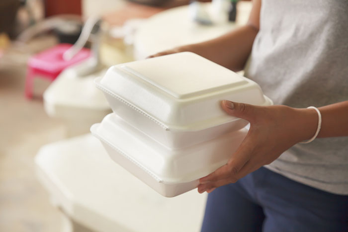 Why You Shouldn't Microwave Styrofoam